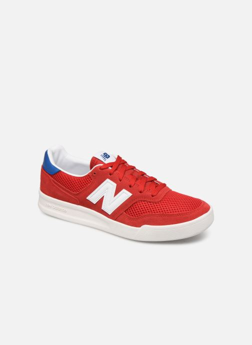 Baskets New Balance CRT300 Rouge vue détail/paire