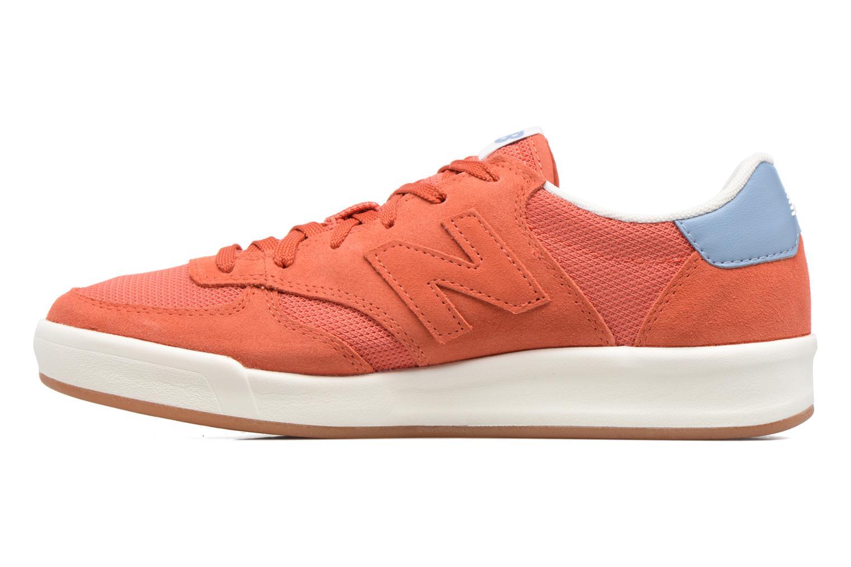 Deportivas New Balance CRT300 Naranja vista de frente