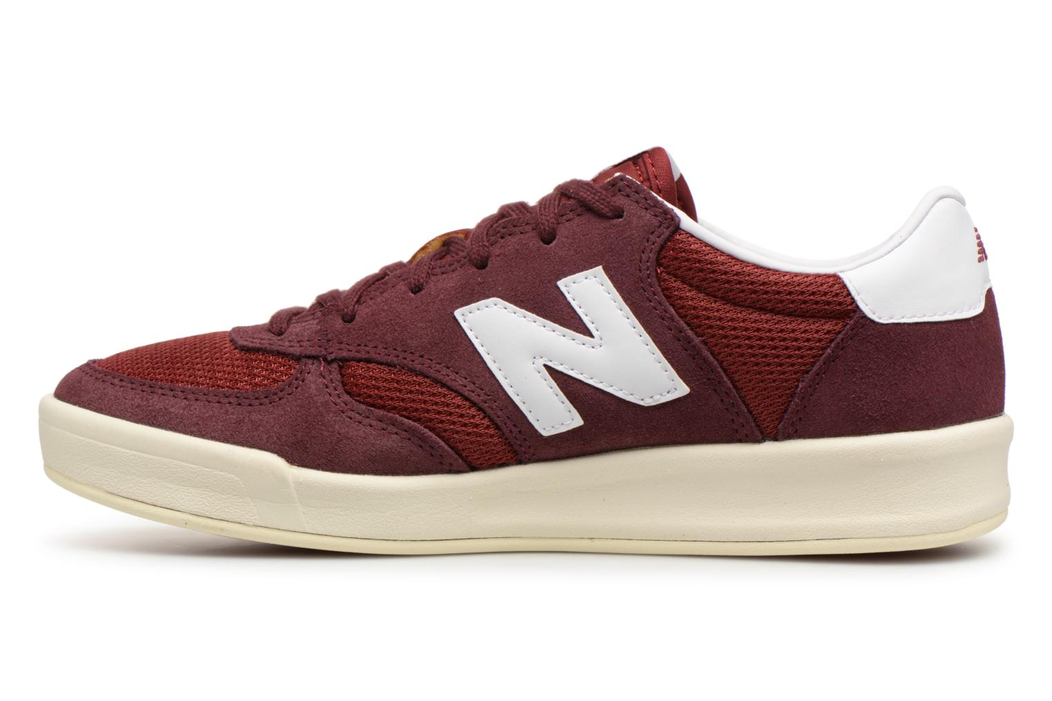 Baskets New Balance CRT300 Bordeaux vue face
