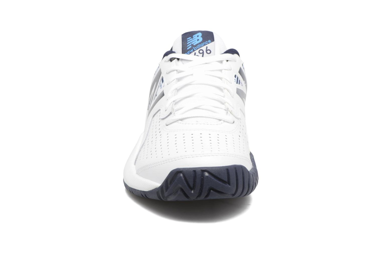 Chaussures de sport New Balance MC696 Blanc vue portées chaussures