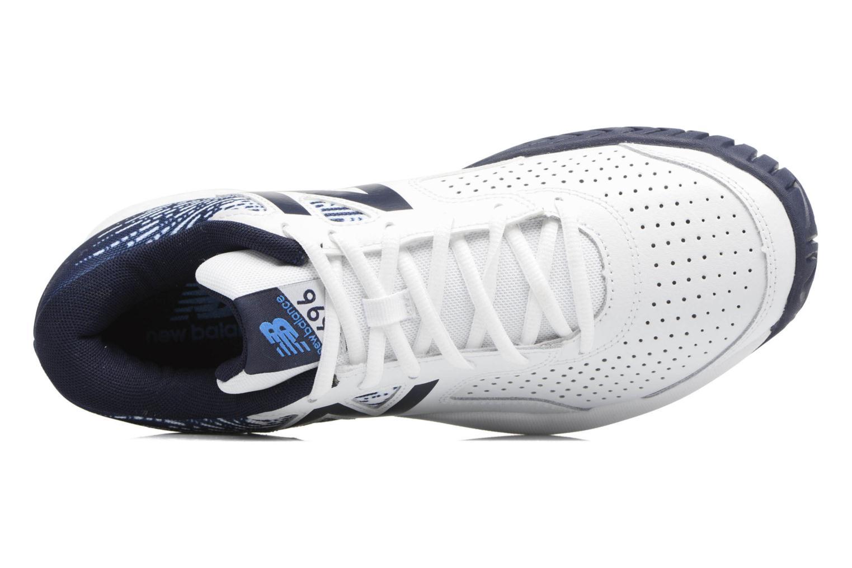 Chaussures de sport New Balance MC696 Blanc vue gauche