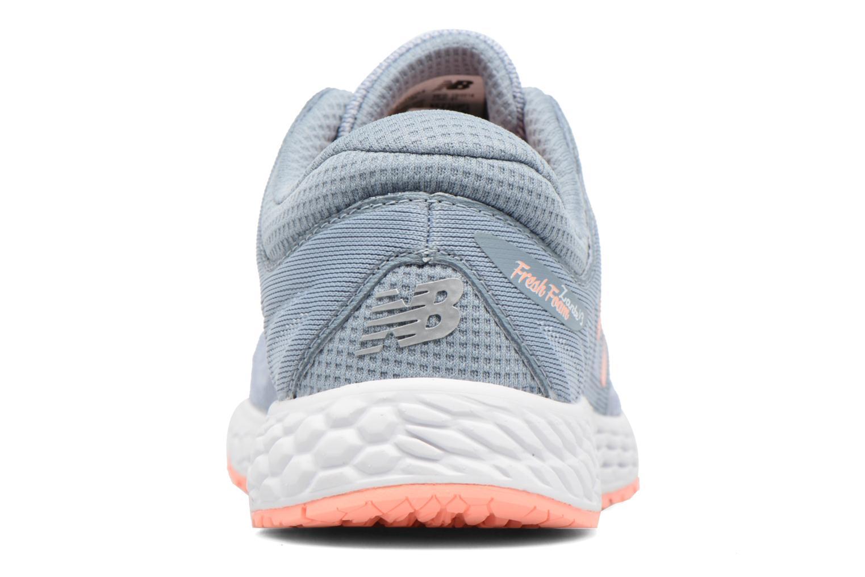 Chaussures de sport New Balance WZANT Gris vue droite