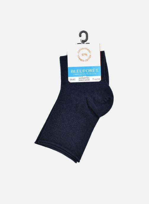 Chaussettes et collants BLEUFORÊT Socquettes ROULOTTEES C Bleu vue derrière