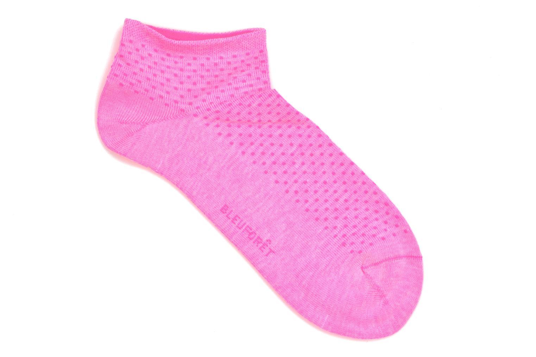 Chaussettes et collants BLEUFORÊT Mini-Socquettes POIS FLUO C Rose vue droite