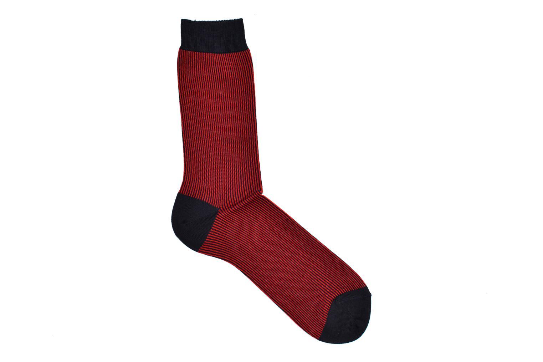 Chaussettes et collants BLEUFORÊT Chaussettes RAYURES F.E Rouge vue détail/paire