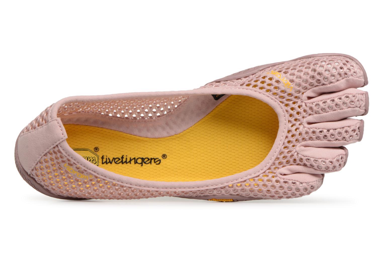 Chaussures de sport Vibram FiveFingers Vi-B Rose vue gauche