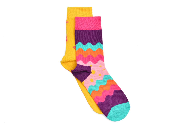 Chaussettes et collants Happy Socks Chaussettes ODAPOP Pack de 2 Multicolore vue détail/paire