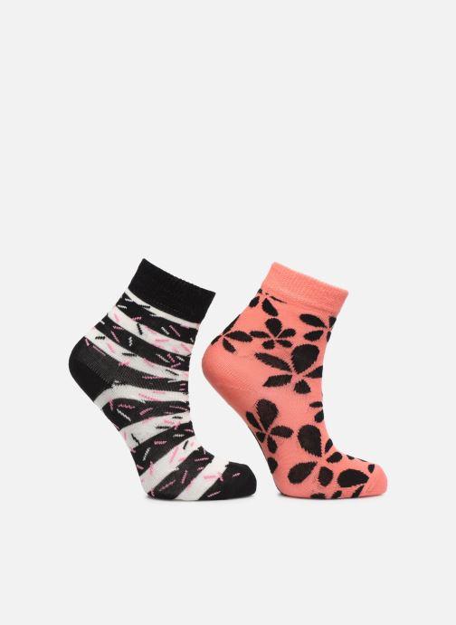 Socken & Strumpfhosen Happy Socks Socken FLOWER 2er-Pack mehrfarbig detaillierte ansicht/modell