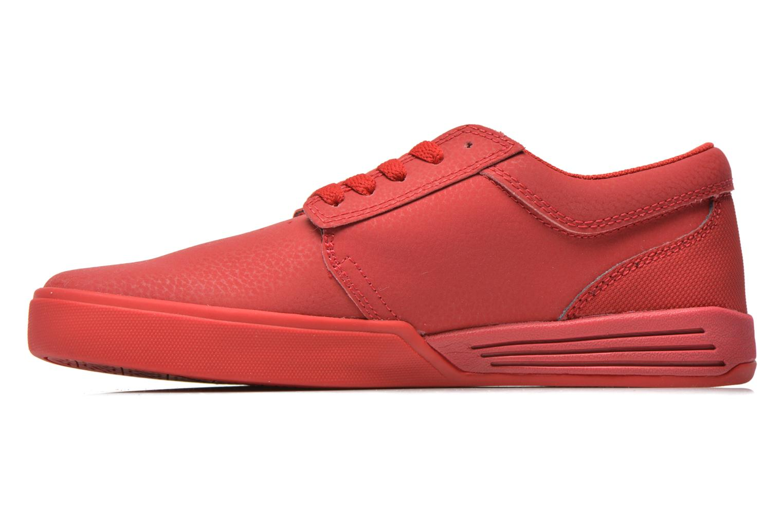 Chaussures de sport Supra Hammer Rouge vue face