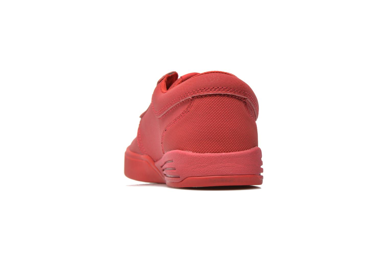 Chaussures de sport Supra Hammer Rouge vue droite