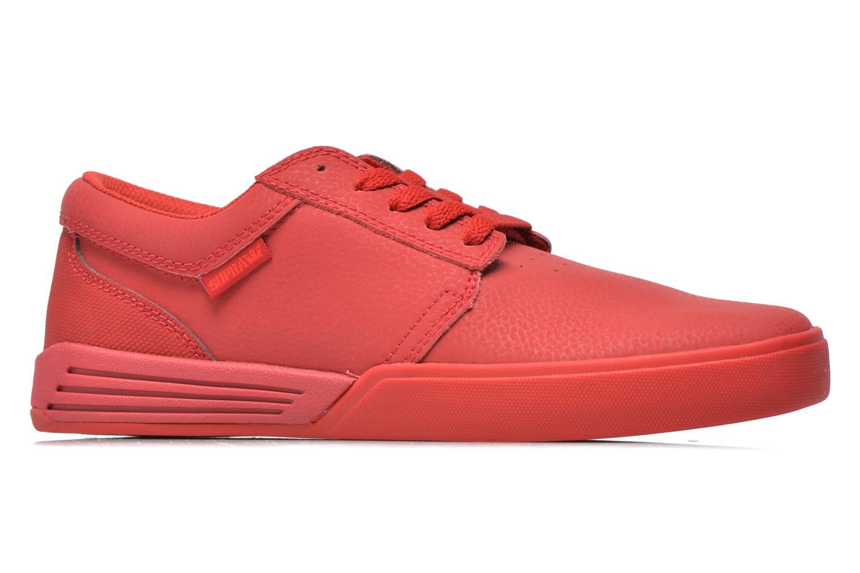 Chaussures de sport Supra Hammer Rouge vue derrière