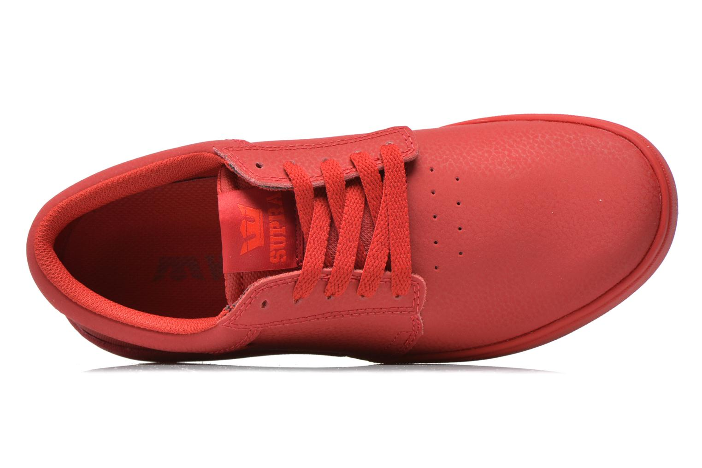 Chaussures de sport Supra Hammer Rouge vue gauche