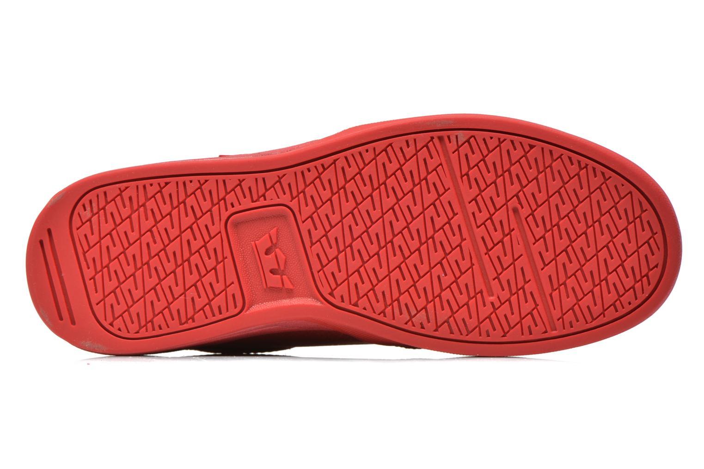 Chaussures de sport Supra Hammer Rouge vue haut
