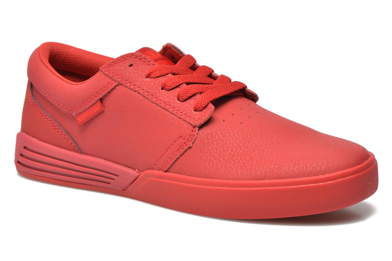 Chaussures de sport Supra Hammer Rouge vue détail/paire