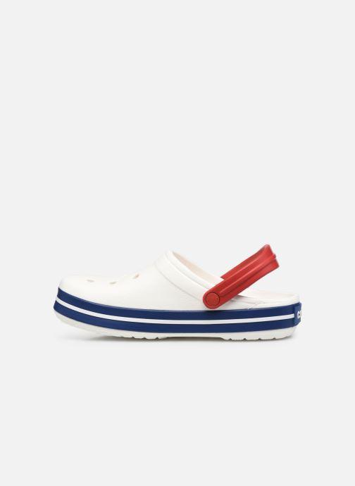 Clogs & Pantoletten Crocs Crocband F weiß ansicht von vorne
