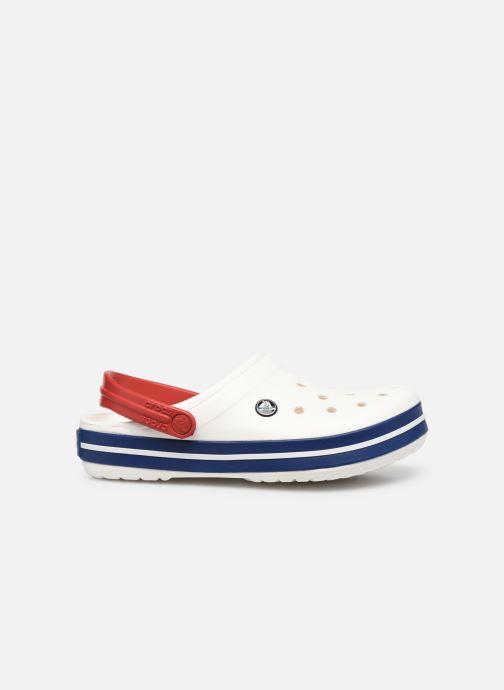 Clogs & Pantoletten Crocs Crocband F weiß ansicht von hinten