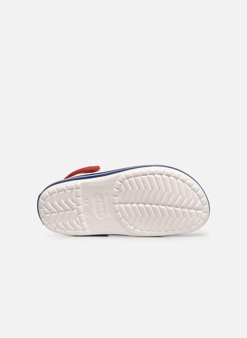 Clogs & Pantoletten Crocs Crocband F weiß ansicht von oben