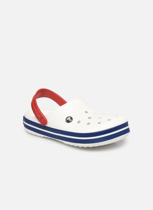 Clogs & Pantoletten Crocs Crocband F weiß detaillierte ansicht/modell