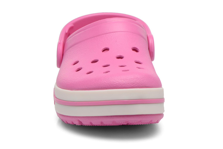 Sandales et nu-pieds Crocs CrocsLights Clog PS Rose vue portées chaussures