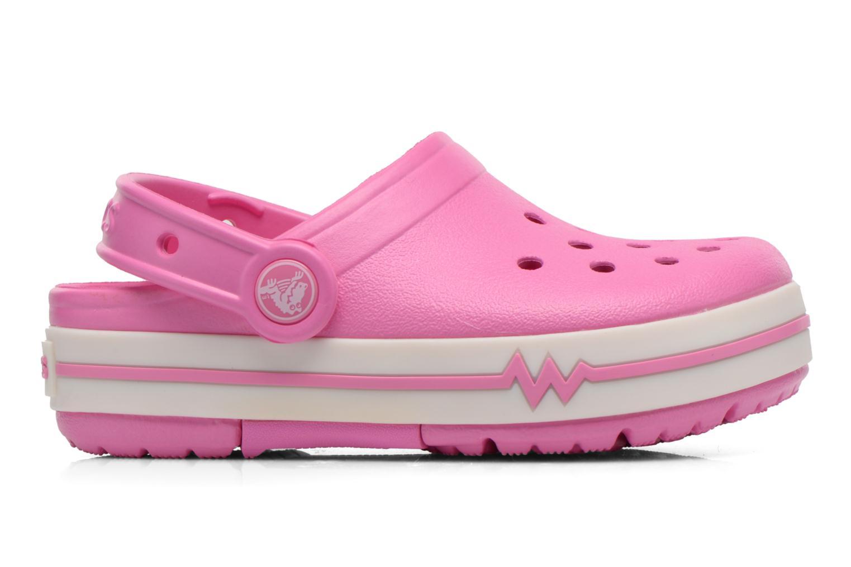 Sandales et nu-pieds Crocs CrocsLights Clog PS Rose vue derrière