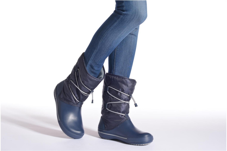 Bottines et boots Crocs Crocband II.5 Cinch Boot W Blanc vue bas / vue portée sac