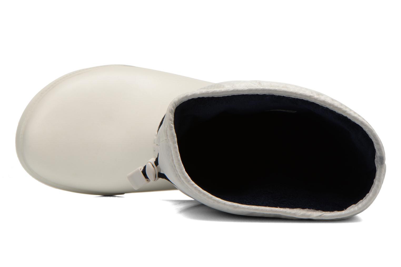Bottines et boots Crocs Crocband II.5 Cinch Boot W Blanc vue gauche