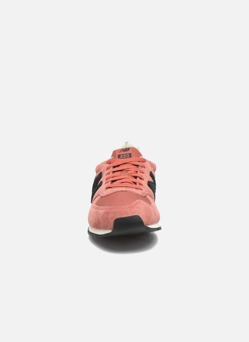 Sneakers New Balance U420 M Orange bild av skorna på