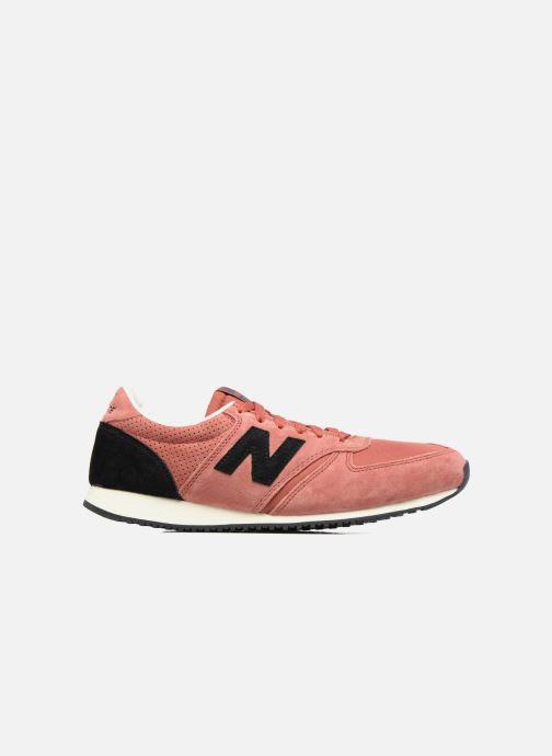 Sneakers New Balance U420 M Oranje achterkant