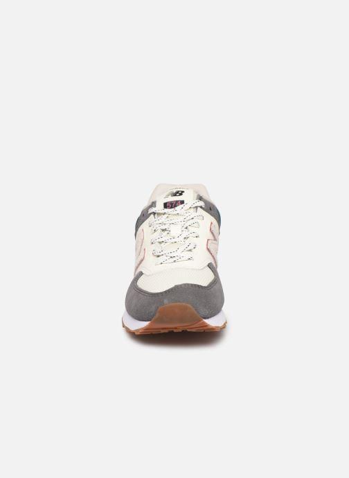Sneaker New Balance Ml574 W grau schuhe getragen