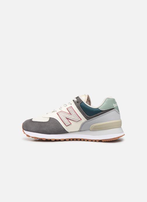 Sneaker New Balance Ml574 W grau ansicht von vorne