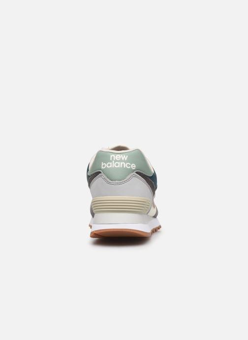 Sneaker New Balance Ml574 W grau ansicht von rechts