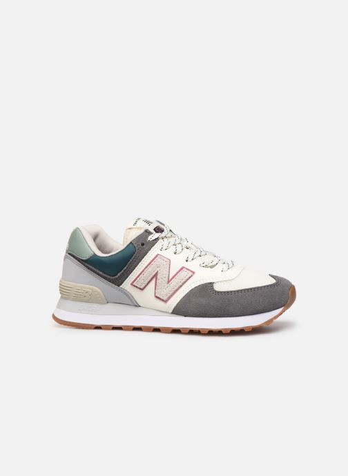 Sneaker New Balance Ml574 W grau ansicht von hinten