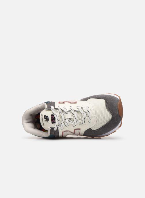 Sneaker New Balance Ml574 W grau ansicht von links