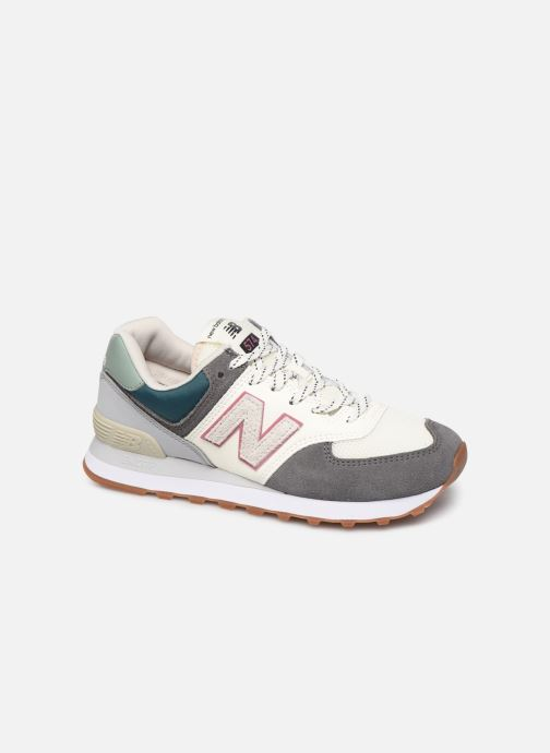 Trainers New Balance Ml574 W Grey detailed view/ Pair view