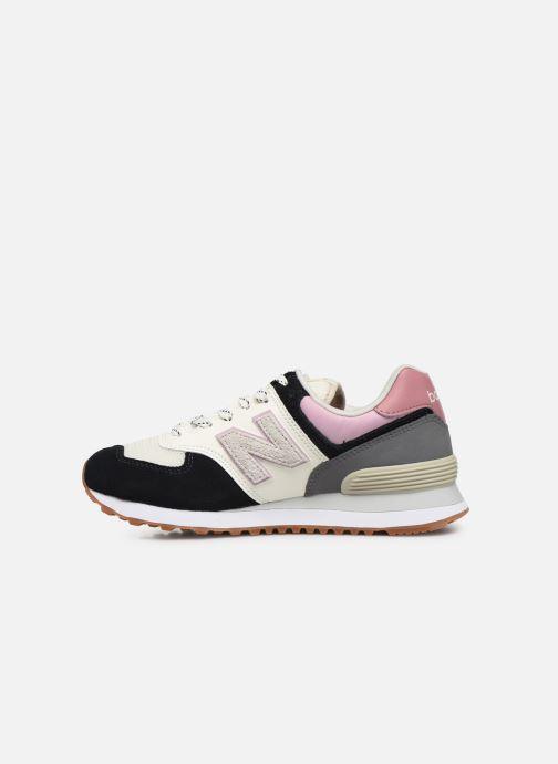 Sneaker New Balance Ml574 W mehrfarbig ansicht von vorne
