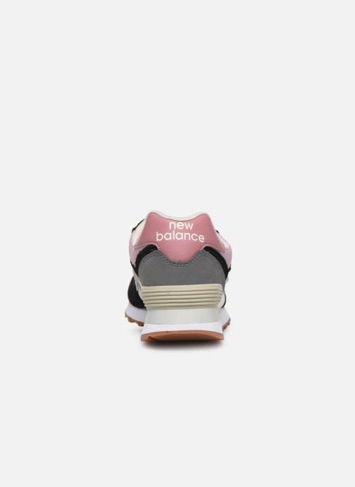 Sneaker New Balance Ml574 W mehrfarbig ansicht von rechts