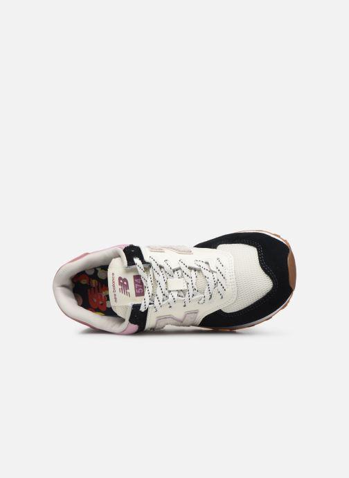 Sneaker New Balance Ml574 W mehrfarbig ansicht von links
