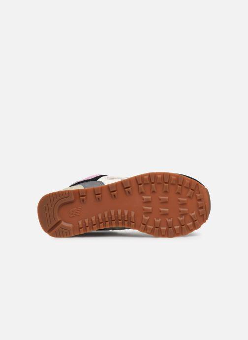 Sneaker New Balance Ml574 W mehrfarbig ansicht von oben
