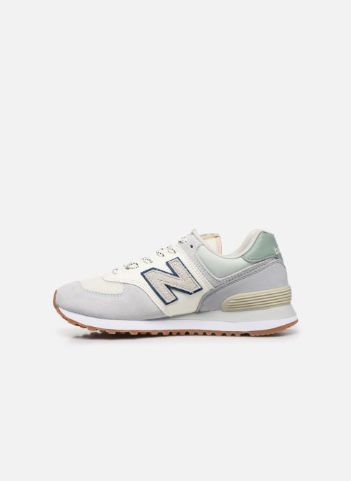 Baskets New Balance Ml574 W Gris vue face