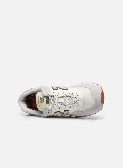 Baskets New Balance Ml574 W Gris vue gauche