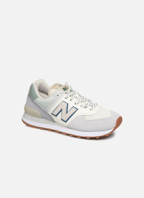 Baskets New Balance Ml574 W Gris vue détail/paire