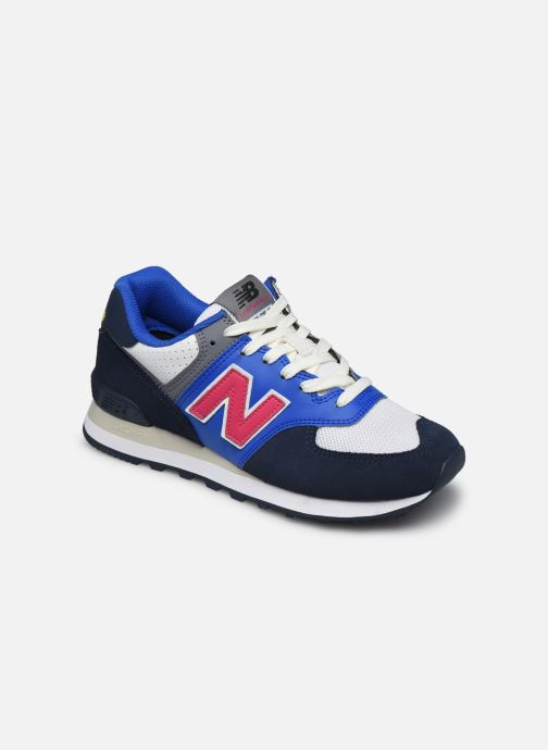 Sneaker New Balance Ml574 W blau detaillierte ansicht/modell