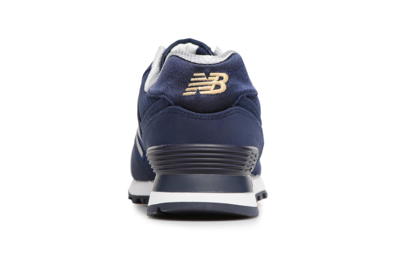 Sneaker New Balance ML574 D blau ansicht von rechts