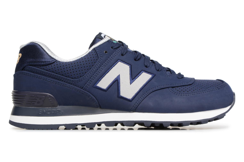 Sneaker New Balance ML574 D blau ansicht von hinten