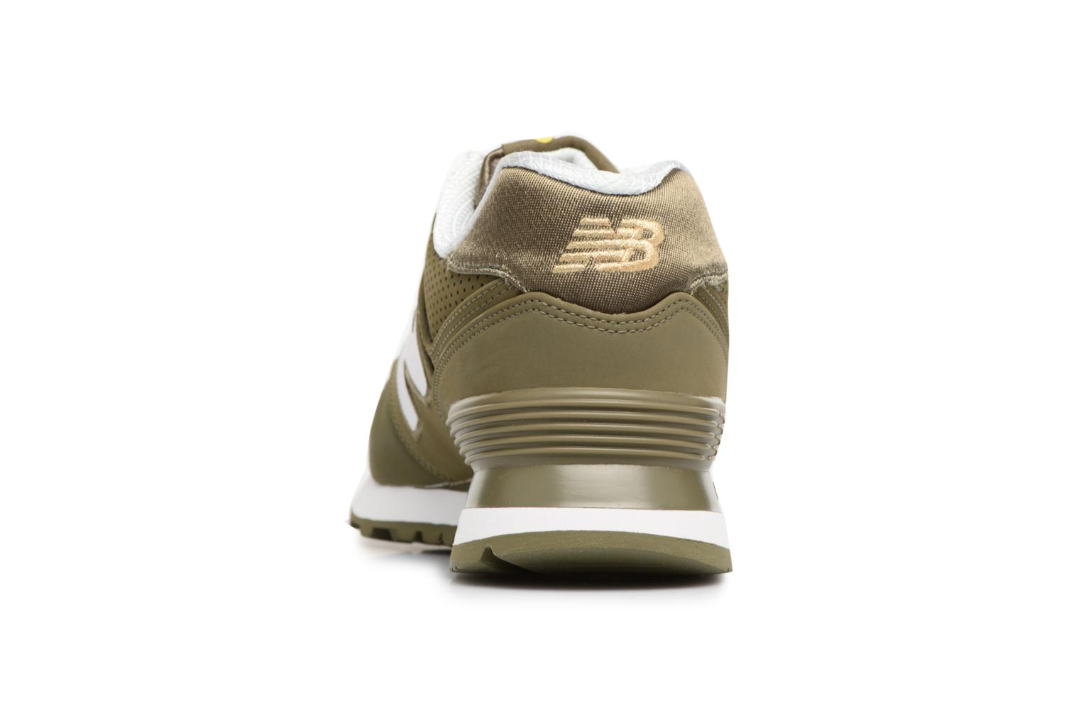Trainers New Balance ML574 D Green view from the right
