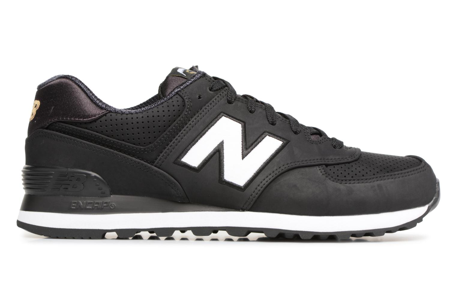 Trainers New Balance ML574 D Black back view