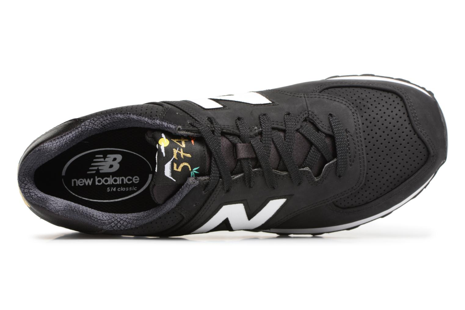 Trainers New Balance ML574 D Black view from the left