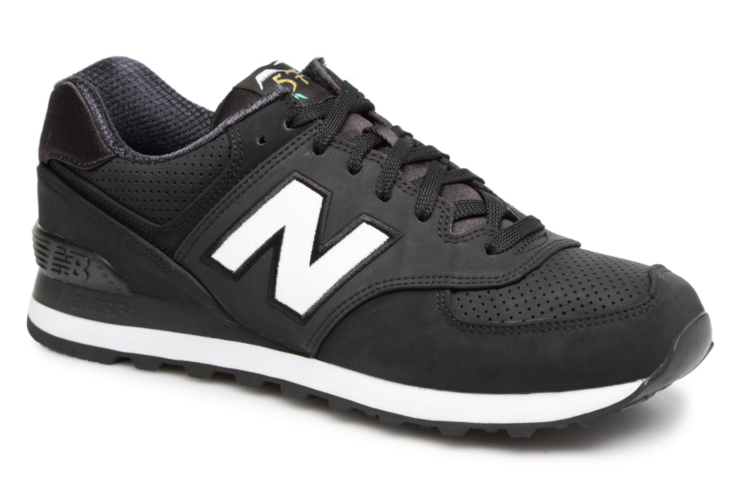 Trainers New Balance ML574 D Black detailed view/ Pair view