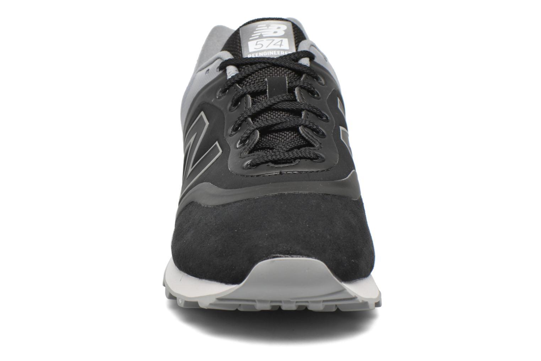 Baskets New Balance MTL574 D M Gris vue portées chaussures