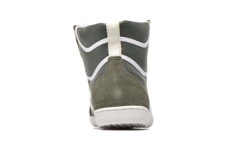 Baskets Veja Spma leather Gris vue droite